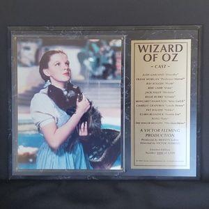 WIZARD OF OZ CAST PLAQUE LTD. EDITION